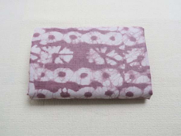 Pink dye fabric from Niger - West Africa
