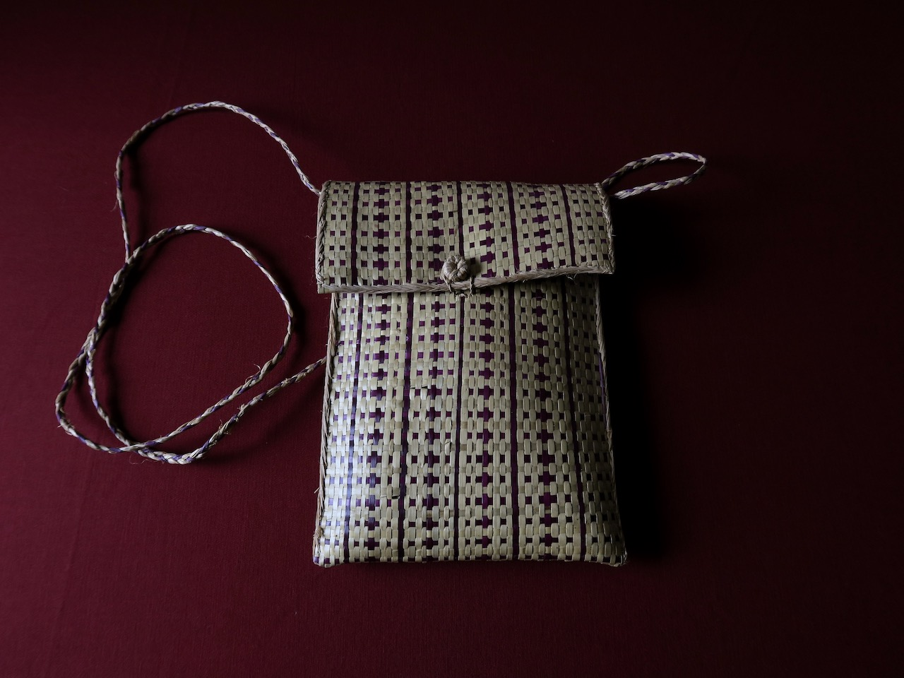 Small wicker bag from Madagscar