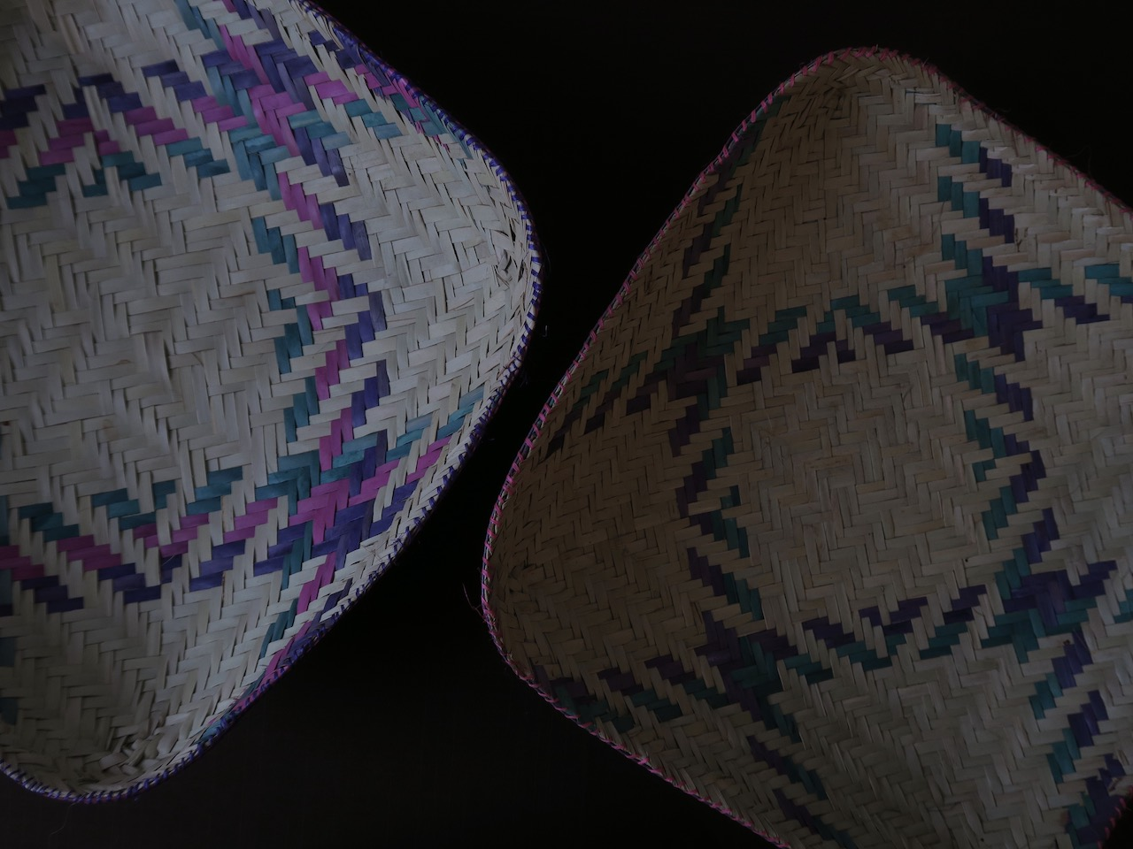 Woven baskets from Madagascar