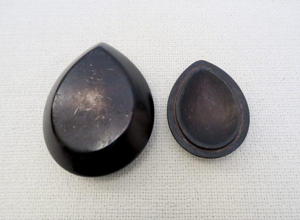Engraved talcum stone box - Tuareg crafts