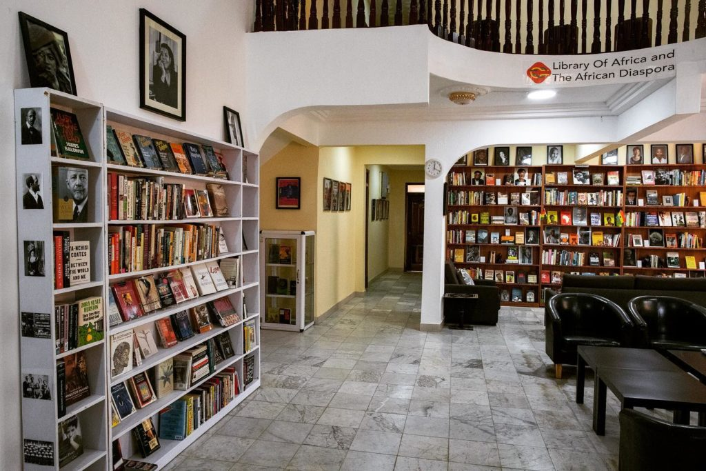 LOATAD-Library of Africa and the African diaspora in Accra