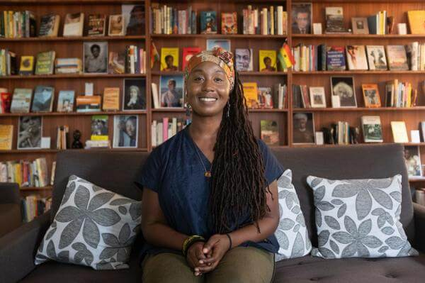 Sylvia Arthur, founder of LOATAD - Library of Africa and The African Diaspora